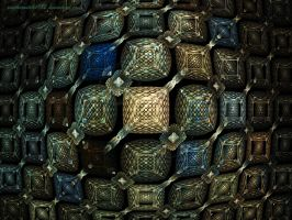 ChainMaille Tapestry - RR1 by pantherwitch4982