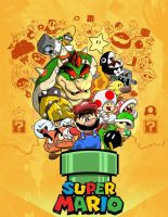 Super Mario by Serchz