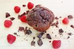 Raspberry and Chocolate Muffin by ElyneNoir