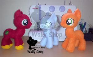 BigMac Colt, Snowdrop, Babs Seed In progress by Vegeto-UchihaPortgas