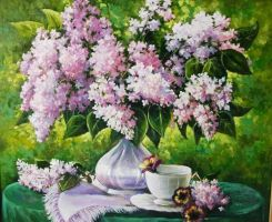 Lilac. Work to order. (Oil) by Knesya27