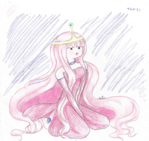 Princess Bubblegum by Musouka15