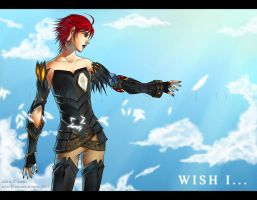 Commission: Wish I... by Noiry
