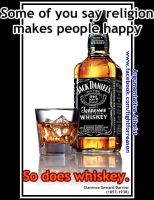 Whiskey, mans gift to...man... by AAtheist