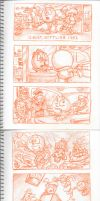 Pac-Man Mixtape Storyboard 07. by Atariboy2600