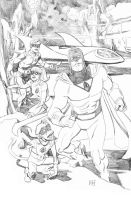 Space Ghost Pencils by deankotz