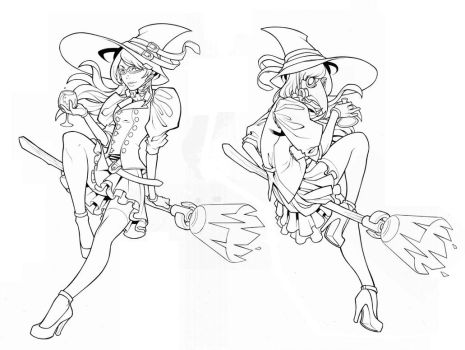 Witch - WIP by edwinhuang