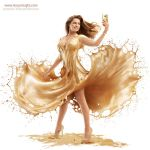 AurumLight for HTC featuring Kelly Brook by Jaroslav-AurumLight