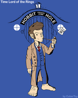 Time Lord of the Rings by CuberToy