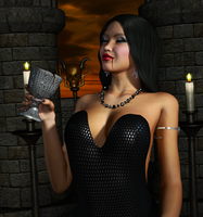 BIANCA BORDEAUX: When we go dark... by Furbs3D