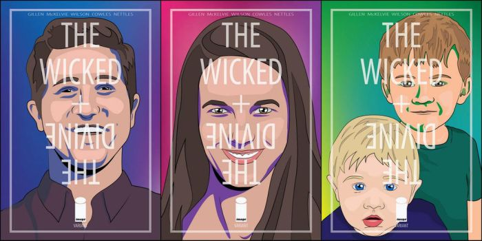 The Wicked + The Divine custom covers by jmnettlesjr