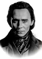 Sir Thomas Sharpe - Tom Hiddleston by anokaxlegolas