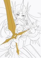 E From Leona ( in process) by beanbean1988