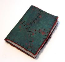 Zombie Leather Sketchbook by Dr-K