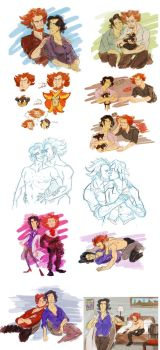 pkmn - s/l sketchdump by spoonybards