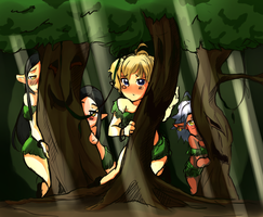 Quick Thingies - Elves by akio2a