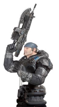 MARCUS FENIX GEARS OF WAR 3 by ZKULPTOR