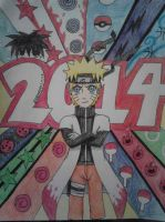 Happy 2014!! by NARUFRO93