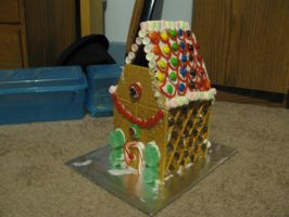 Gingerbread House by AnScathMarcach