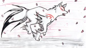 Run and run, Amaterasu by ASakuraZaki