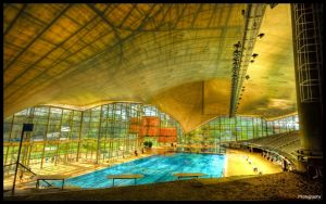 Munich Olympic Pool II - WP by superjuju29