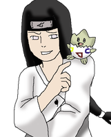 Neji and togepi by SakuraKage91