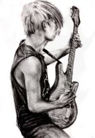 Leader Toru! (charcoal) by Reyos-Cheney