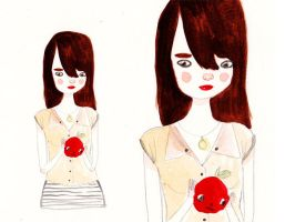 Apple Girl by perfectnoseclub