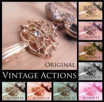 Vintage Actions by thethiirdshift