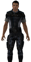 ME3 Kaidan Alliance Fatigues (XPS) by SonYume