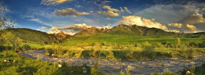 Sunny eve after the rain pano by elimoe