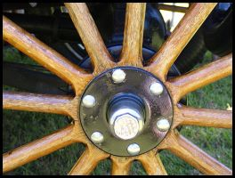 Wooden Spokes by texasghost