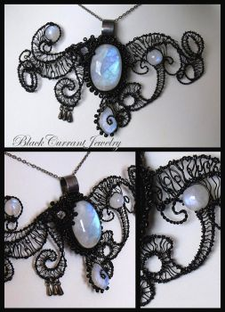 Moonlight Dream by blackcurrantjewelry