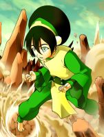 Toph colored by jaypao