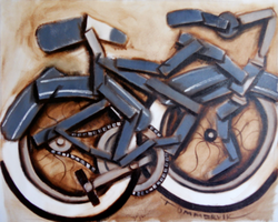 cruiser bike abstract by TOMMERVIK