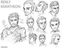 Renly Baratheon by seeth