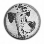 125-Huckleberry-Hound-1926 by HiTechArtist