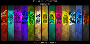 FFXII Espers Wallpaper Pack by paridox