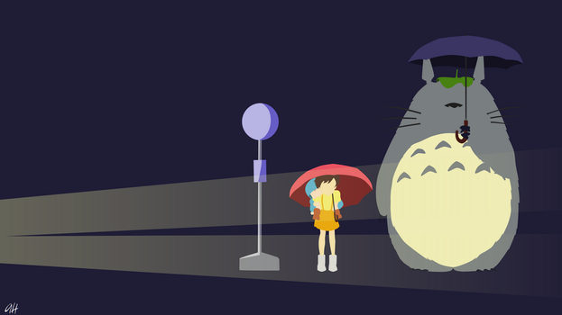 My Neighbour totoro by darkprinceah