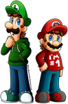 Commissions - Mario: The Cursed Past (NebulaWords) by CutyAries