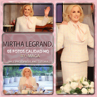 +Photopack Mirtha Legrand 01-More Celeb. 79~SPAT by Maga-Bellarina