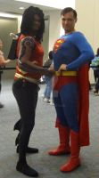 Aqualad and Superman by pa68