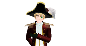 Pirate!England (Almost done) by hetalia-fanart