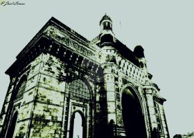 The Gateway of India by deviantzarl
