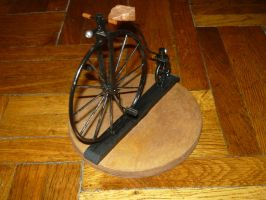 Client Order: Classic Big Wheel Bicycle 1890 by LacheV