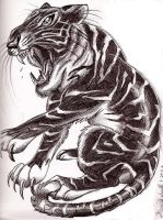 inverted tiger by Smithy9