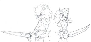 Request- Sonic Personas by BudokaiHyuga