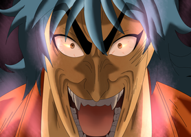 Toriko used Scary Face by Scheve94