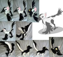Stitchy Cat plushie commission by Rens-twin