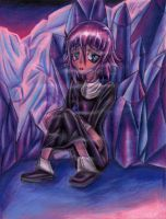 Crona - Ice Crystals by Kary--Chan